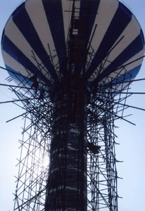倒锥形水塔防腐